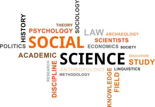 word cloud - social science