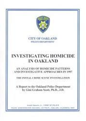 investigating homicide in Oakland